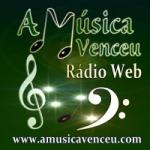 Logo da emissora Rádio Web a Música Venceu