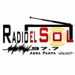 Logo da emissora Radio El Sol 97.7 FM