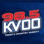 Logo da emissora KVOO 98.5 FM