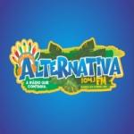 Logo da emissora Rádio Alternativa 104.1 FM