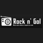 Logo da emissora Rádio Rock n' Gol