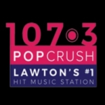 Logo da emissora KVRW 107.3 FM