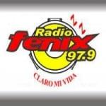 Logo da emissora Radio Fenix 97.9 FM