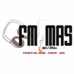 Logo da emissora Radio Mas 100.7 FM