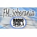 Logo da emissora Radio Soberania 98.1 FM