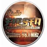 Logo da emissora Radio Fiesta 98.1 FM