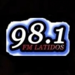 Logo da emissora Radio Latidos 98.1 FM
