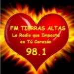 Logo da emissora Radio Tierras Altas 98.1 FM