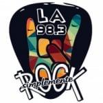 Logo da emissora Radio La 98.3 FM