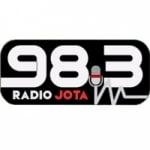 Logo da emissora Radio Jota 98.3 FM