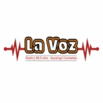 Logo da emissora Radio La Voz 98.5 FM