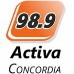 Logo da emissora Radio Activa 98.9 FM