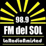 Logo da emissora Radio Del Sol 98.9 FM