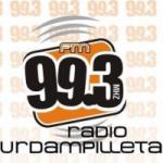 Logo da emissora Radio Urdampilleta 99.3 FM