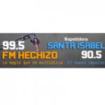 Logo da emissora Radio Hechizo 99.5 FM