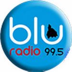 Logo da emissora Blu Radio 99.5 FM