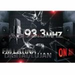 Logo da emissora Radio Latina 93.3 FM