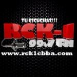 Logo da emissora Radio RCK-1 FM 99.7 FM