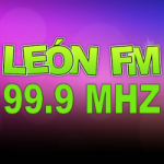 Logo da emissora Radio León 99.9 FM