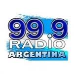 Logo da emissora Radio Argentina 99.9 FM