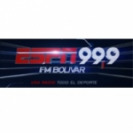 Logo da emissora Radio Play ESPN 99.9 FM