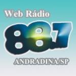 Logo da emissora Web Rádio 88.7