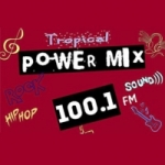 Logo da emissora Radio Power Mix 100.1 FM