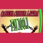 Logo da emissora Radio Cadena Cumbia 100.1 FM
