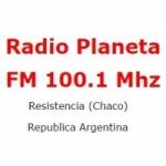 Logo da emissora Radio Planeta 100.1 FM