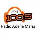 Logo da emissora Radio Adelia María 100.5 FM