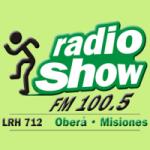 Logo da emissora Radio Show 100.5 FM