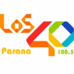 Logo da emissora Radio Los 40 100.5 FM
