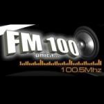 Logo da emissora Radio 100.5 FM