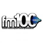 Logo da emissora Radio FM 100.5