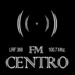 Logo da emissora Radio Centro 100.7 FM