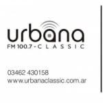 Logo da emissora Radio Urbana Classic 100.7 FM