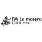 Logo da emissora Radio La Matera 100.9 FM