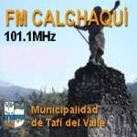 Logo da emissora Radio Calchaquí 101.1 FM