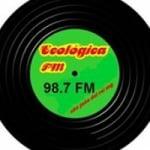 Logo da emissora Rádio Ecológica 98.7 FM