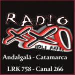 Logo da emissora Radio XXI 101.1 FM