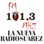 Logo da emissora Radio Suárez 101.3 FM