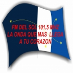 Logo da emissora Radio Del Sol 101.5 FM