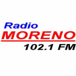Logo da emissora Radio Moreno 102.1 FM