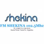 Logo da emissora Radio Shekina 102.5 FM