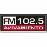 Logo da emissora Radio Avivamiento 102.5 FM