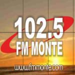 Logo da emissora Radio Monte 102.5 FM
