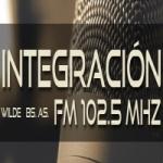 Logo da emissora Radio Integración 102.5 FM