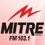 Logo da emissora Radio Mitre 103.1 FM