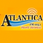 Logo da emissora Radio Atlantica 103.1 FM