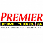 Logo da emissora Radio Premier 103.3 FM